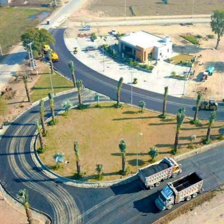 buy plot in Dream Gardens Wazirabad